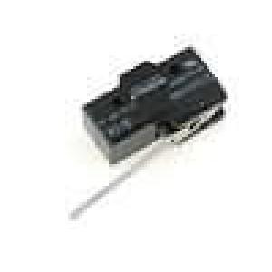Mikrospínač s páčkou SPDT 15A/250VAC ON-(ON) 1-polohové IP40