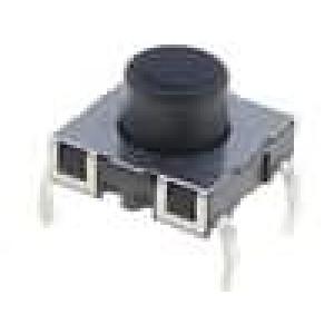 Mikrospínač 1-polohové SPST-NO 0,01A/12VDC THT 1,8N 4,55mm