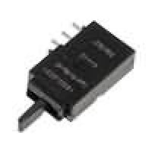 Mikrospínač 3 polohy SPDT 0,5A/60VDC THT 162,26x9,95x5mm