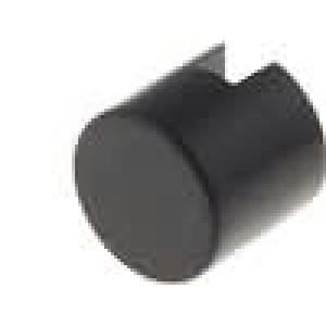 Hmatník kulatý Ø6mm barva černá