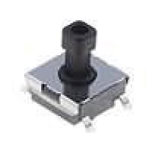 Mikrospínač 1-polohové SPST-NO 0,05A/24VDC SMT 0,98N 6x6mm