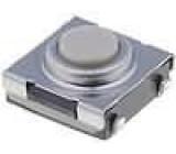 Mikrospínač 1-polohové SPST-NO 0,05A/24VDC SMT 1,57N 6x6mm