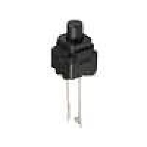 Mikrospínač 1-polohové SPST-NO 0,05A/12VDC THT 1,96N 8x8mm