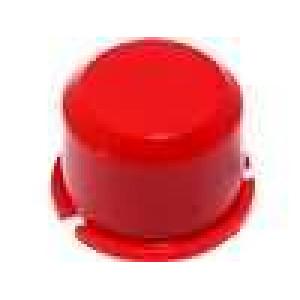 Hmatník kulatý červená pro MEC3FTL6 Ø9,6mm