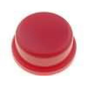 Hmatník kulatý červená pro TACTS-24 Ø13mm
