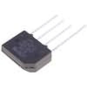 Usměrňovací můstek plochý 800V 2A