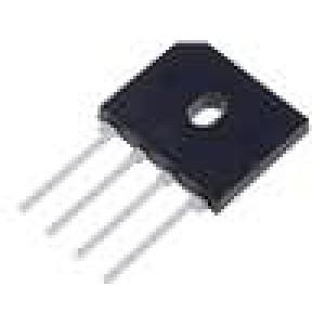 Usměrňovací můstek plochý 400V 6A
