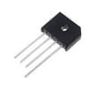 Usměrňovací můstek plochý 200V 6A