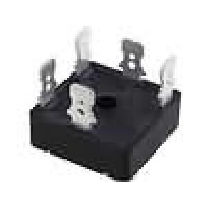 Třífázový usměrňovací můstek 50V 35A konektor konektory 6,3x0,8mm