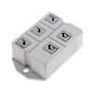 Třífázový usměrňovací můstek 1,2kV 110A 1,12kA G37
