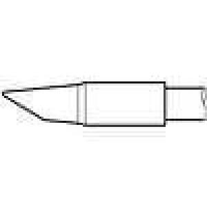 Hrot zkosený kužel 3,5mm longlife