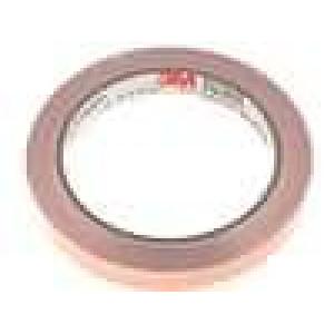 Knot: stínicí Mat: měď 12mm L:16,5m hladký