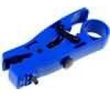 Odstraňovač izolace Vodič kulatý plochý Prům.vod:0,26-8mm