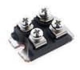 DSEI2X101-06A Diodový modul 600V 96A SOT227B Uf @ If:1,25V