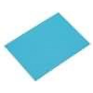 Tepelně vodivá podložka keramická TO220 L:20mm W:15mm