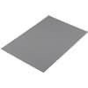 Tepelně vodivá podložka gelová L:300mm W:200mm D:0,5mm