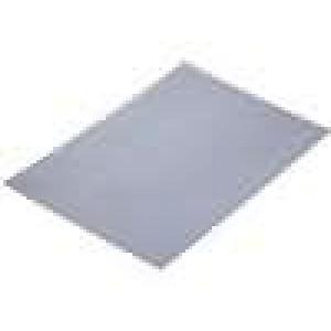 Tepelně vodivá podložka kaučukově-silikonová L:220mm W:150mm