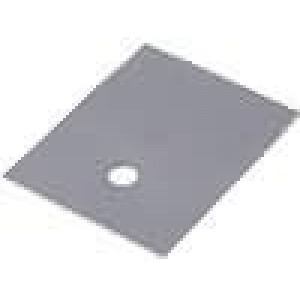 Tepelně vodivá podložka silikonová SOT93,TOP3 0,4K/W L:24mm
