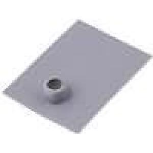 Tepelně vodivá podložka silikonová TO220 0,4K/W L:20mm