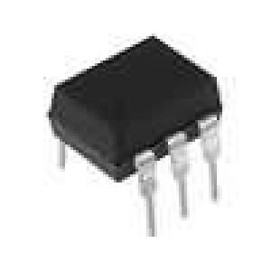 4N25 Optočlen THT Kanály:1 tranzistorový výstup Uizol:5,3kV Uce:70V