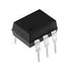4N25-000E Optočlen THT Kanály:1 tranzistorový výstup Uizol:2,5kV Uce:10V