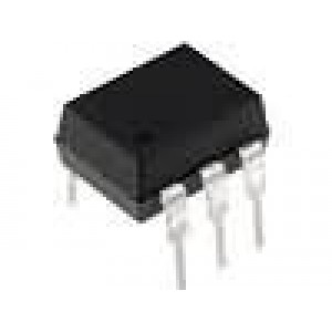 4N36-F Optočlen THT Kanály:1 tranzistorový výstup Uizol:7,5kV Uce:30V