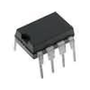 6N136-I Optočlen THT Kanály:1 tranzistorový výstup 2,5kV/μs 1Mb/s DIP8