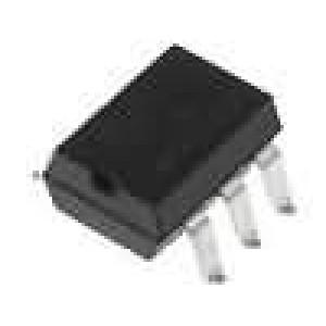 CNY17-3X007 Optočlen THT Kanály:1 tranzistorový výstup Uizol:5,3kV Uce:70V