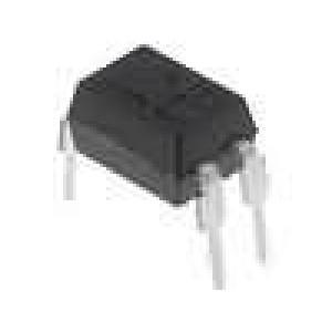 EL817 Optočlen THT Kanály:1 tranzistorový výstup Uizol:5kV Uce:35V