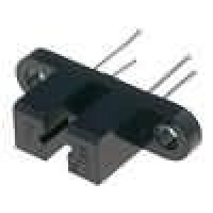 H21A2-I Optočlen štěrbinová s clonou tranzistorový výstup 30V