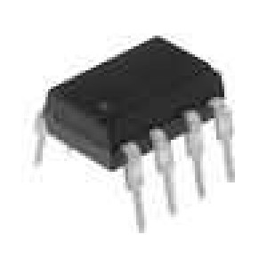 ISP321-2X Optočlen THT 2 kanály tranzistorový výstup Uizol:5,3kV Uce:80V