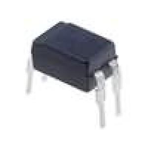 KB814 Optočlen THT tranzistorový výstup 5kV CTR@If:20-300%@1mA DIP4