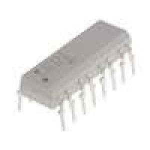 TLP620-4 Optočlen THT Kanály:4 tranzistorový výstup Uizol:5kV Uce:55V