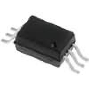 ACPL-W60L-000E Optočlen SMD Kanály:1 Výst hradlo 15kV/μs 5kV 15Mb/s SO6