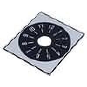 Stupnice rozsah:1 až 12 48x42mm průměr otvoru 10mm