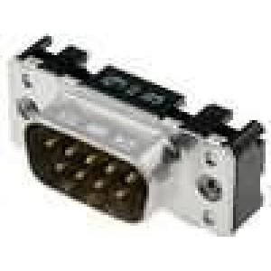 Zásuvka D-Sub 9 PIN vidlice přímý THT UNC4-40