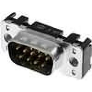 Zásuvka D-Sub 9 PIN vidlice přímý THT M3