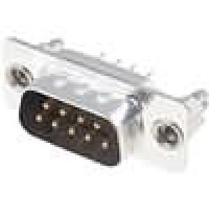Zásuvka D-Sub HD 20 9 PIN vidlice přímý THT UNC4-40 zlacený