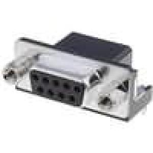 Zásuvka D-Sub HD 20 9 PIN zásuvka úhlové 90° THT UNC4-40