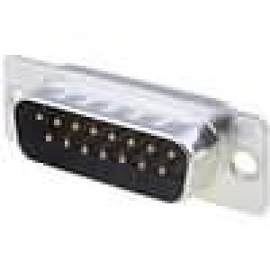 Zástrčka D-Sub HD 20 15 PIN vidlice pájení na kabel