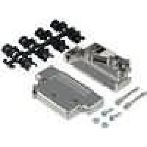 Kryt pro konektory D-Sub 37pin, D-Sub HD 62pin stíněný