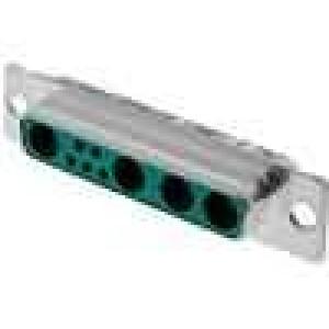 Zástrčka speciální D-Sub 9 PIN(4+5) zásuvka pájení na kabel