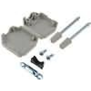 Kryt pro konektory D-Sub HD 15pin, D-sub 9pin přímý
