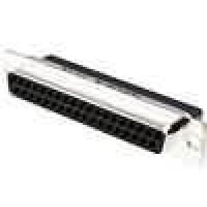 D-Sub 37 PIN zásuvka bez kontaktů na kabel B:7,9mm C:63,5mm