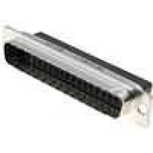 D-Sub 37 PIN vidlice bez kontaktů na kabel B:8,4mm C:63,5mm