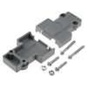 Kryt pro konektory D-Sub pro řadu DFR zajištění šroubky