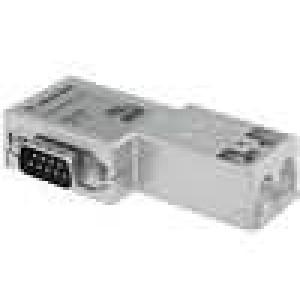 D-Sub drát, kabel SK/FC PIN:9 Profibus úhlové 90° IDC