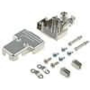 Kryt pro konektory D-Sub HD 15pin, D-sub 9pin UNC4-40