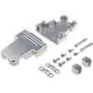 Kryt pro konektory D-Sub HD 26pin, D-sub 15pin UNC4-40