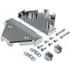 Kryt pro konektory D-Sub 37pin, D-Sub HD 62pin UNC4-40